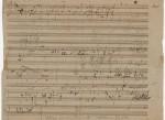 Se subasta un manuscrito de Beethoven