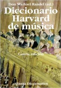 diccionario musica