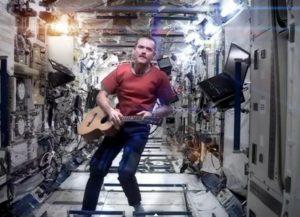 astronauta disco espacio