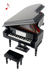 piano musical miniatura