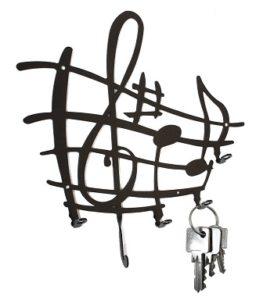 tablero llaves musical