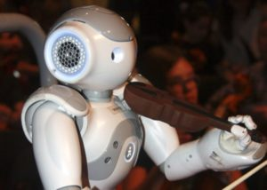 robot violin
