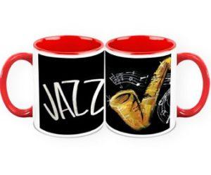tazas musicales jazz