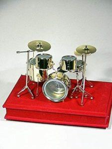 bateria miniatura musical