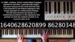 Así suena el número Pi hecho música