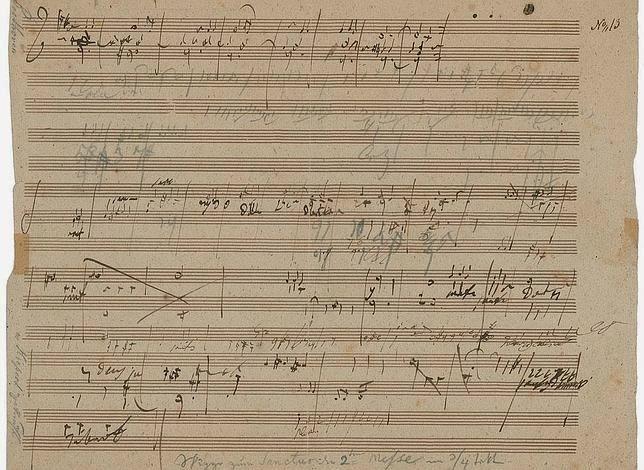 manuscrito de beethoven subasta
