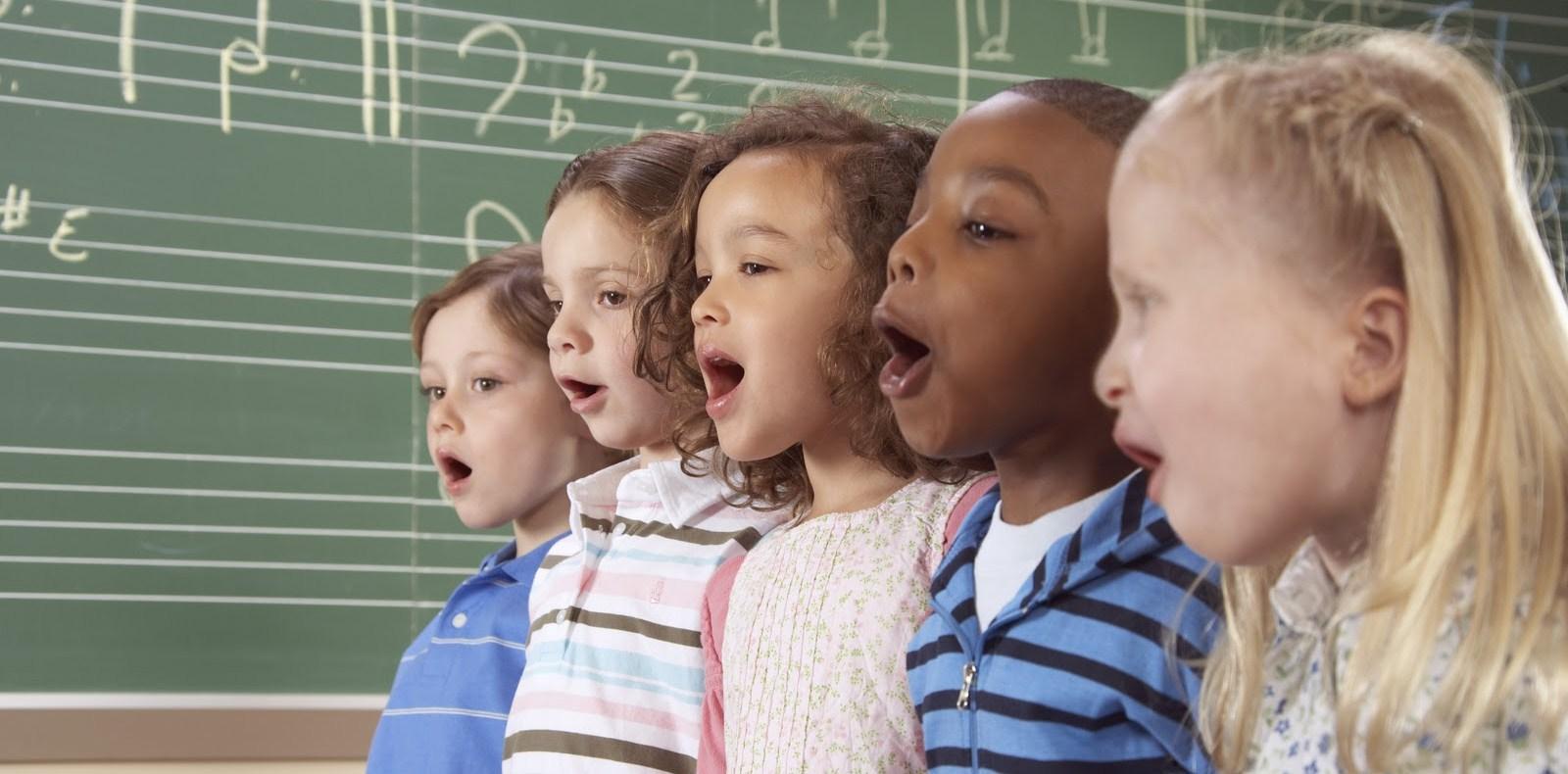 Resultado de imagen para los niños y la musica