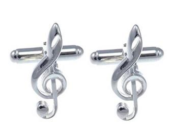 gemelos de musica de plata comprar online