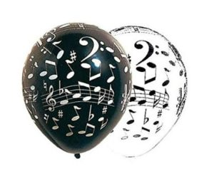 globos musicales