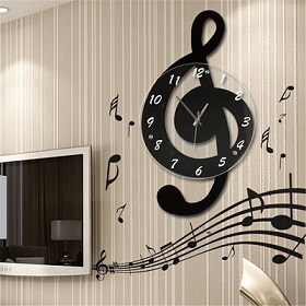 relojes musicales de pared