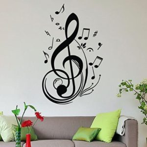 Regalos musicales m s originales el regalo musical for Vinilo decorativo musical pared
