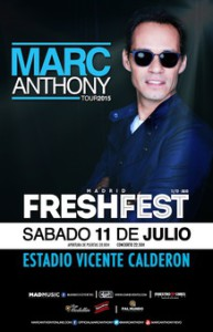 marc anthony madrid
