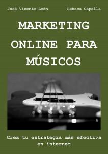 portada marketing online para músicos