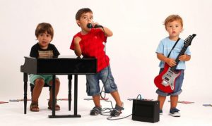 musica y niños