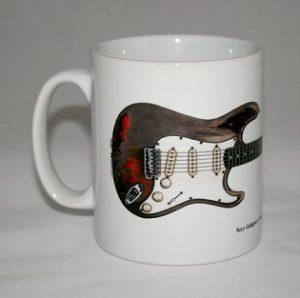 taza de guitarra