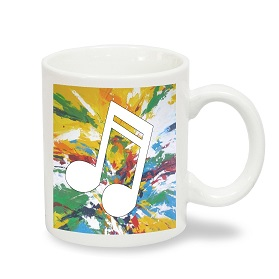 taza musical de cafe