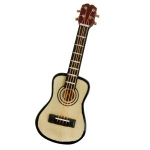 guitarra miniatura musical