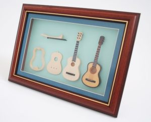 guitarras en miniatura
