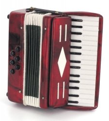 miniatura musical acordeon