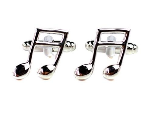 gemelos musicales con corcheas comprar online