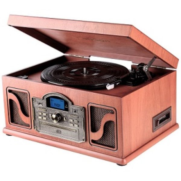 comprar tocadiscos de madera online