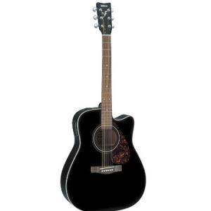 guitarra acustica yamaha negra