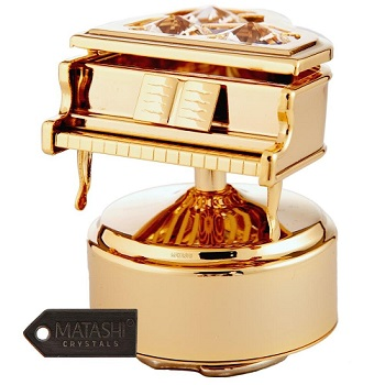 caja de musica bañada en oro comprar por internet