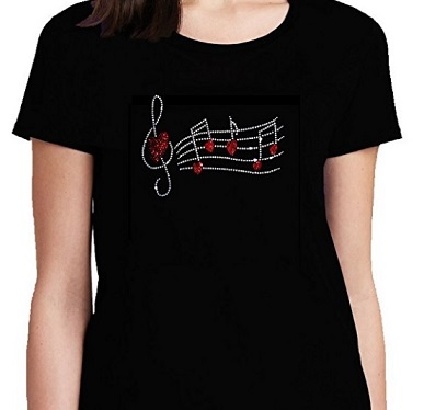 camisetas musica mujer baratas