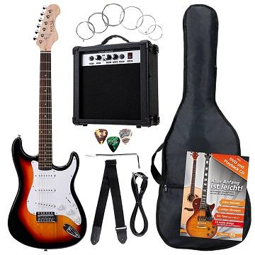 mejores guitarras electricas para principiantes