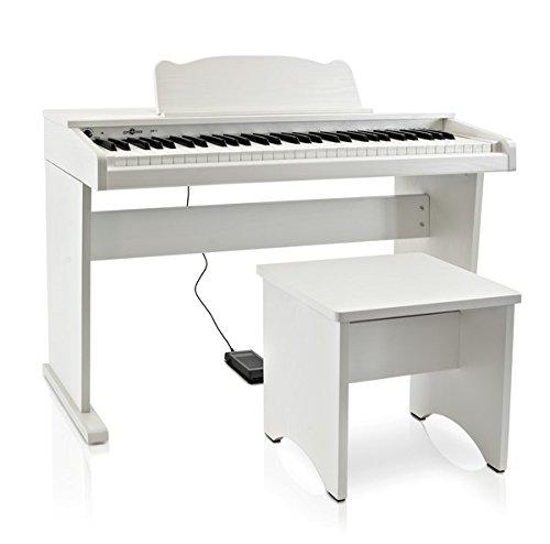 donde comprar pianos digitales blancos