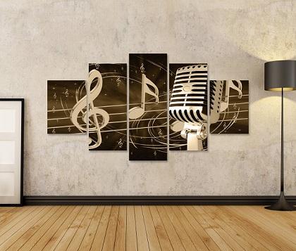 cuadro musical gigante