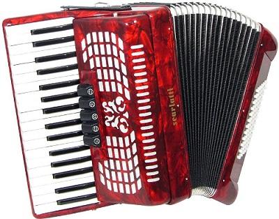 acordeon rojo comprar online