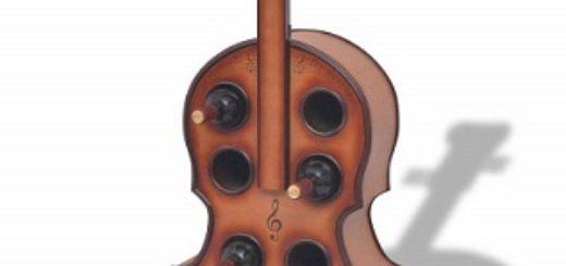botellero forma de violin comprar online