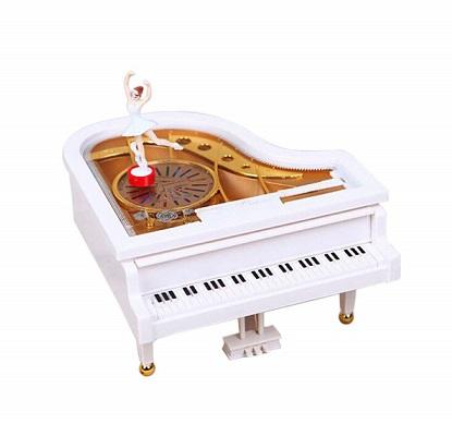caja de musica con bailarina