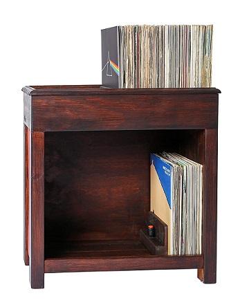 comprar mueble discos vinilo artesanal precio barato online