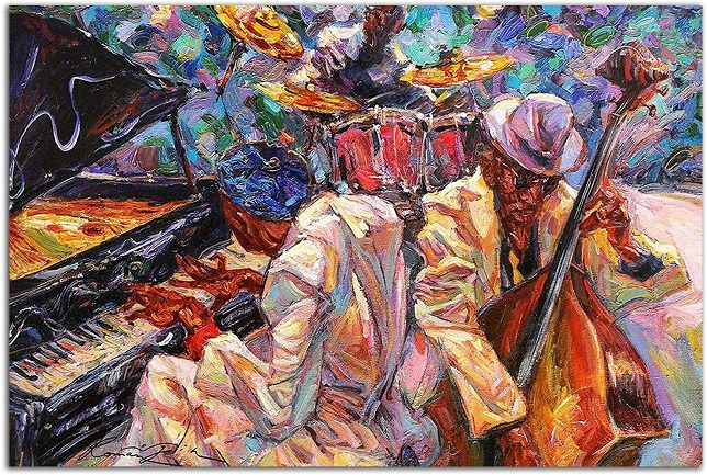 comprar cuadro musica jazz comprar online