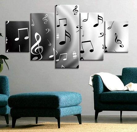 comprar cuadros temas musicales precio barato online