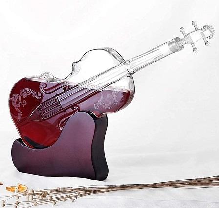 comprar decantador forma de violin precio barato online