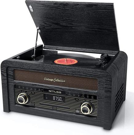 comprar tocadiscos vintage muse precio barato online
